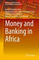 Cover image for Money and Banking in Africa