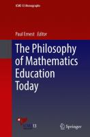 Cover image for The Philosophy of Mathematics Education Today