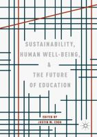Cover image for Sustainability, Human Well-Being, and the Future of Education