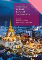 Cover image for The Secular in South, East, and Southeast Asia