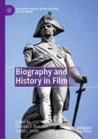 Cover image for Biography and History in Film