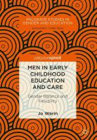 Cover image for Men in Early Childhood Education and Care Gender Balance and Flexibility
