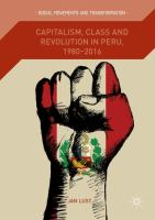 Cover image for Capitalism, Class and Revolution in Peru, 1980-2016