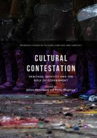 Cover image for Cultural Contestation Heritage, Identity and the Role of Government
