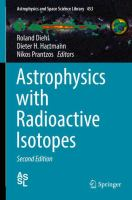 Cover image for Astrophysics with Radioactive Isotopes