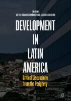 Cover image for Development in Latin America Critical Discussions from the Periphery