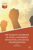 Cover image for The Palgrave Handbook of Social Movements, Revolution, and Social Transformation