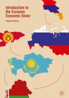 Cover image for Introduction to the Eurasian Economic Union