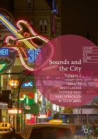 Cover image for Sounds and the City Volume 2