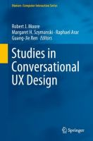 Cover image for Studies in Conversational UX Design