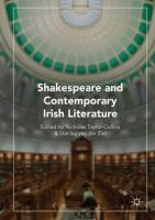 Cover image for Shakespeare and Contemporary Irish Literature