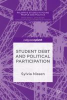 Cover image for Student Debt and Political Participation