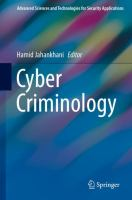 Cover image for Cyber Criminology