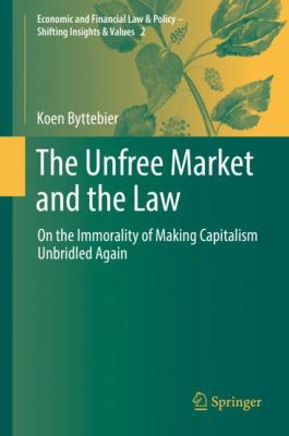 Cover image for The Unfree Market and the Law On the Immorality of Making Capitalism Unbridled Again