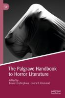 Cover image for The Palgrave Handbook to Horror Literature