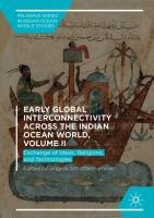 Cover image for Early Global Interconnectivity across the Indian Ocean World, Volume II  Exchange of Ideas, Religions, and Technologies