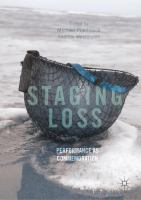 Cover image for Staging Loss Performance as Commemoration