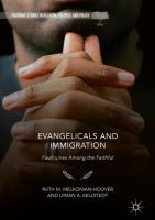 Cover image for Evangelicals and Immigration Fault Lines Among the Faithful