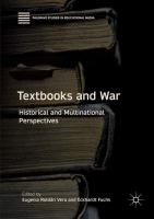 Cover image for Textbooks and War Historical and Multinational Perspectives