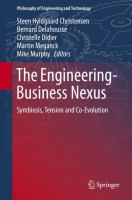 Cover image for The Engineering-Business Nexus Symbiosis, Tension and Co-Evolution