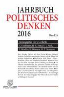 Cover image for Politisches Denken : Jahrbuch 2016