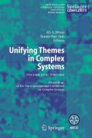 Cover image for Unifying Themes in Complex Systems Overview Volume IIIA Proceedings from the Third International Conference on Complex Systems