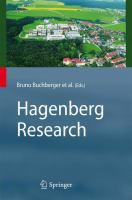 Cover image for Hagenberg Research