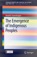Cover image for The Emergence of Indigenous Peoples