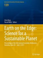 Cover image for Earth on the Edge: Science for a Sustainable Planet Proceedings of the IAG General Assembly, Melbourne, Australia, June 28 - July 2, 2011