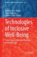 Cover image for Technologies of Inclusive Well-Being Serious Games, Alternative Realities, and Play Therapy