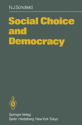 Cover image for Social Choice and Democracy