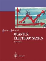 Cover image for Quantum Electrodynamics