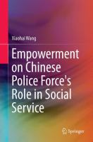 Cover image for Empowerment on Chinese Police Force's Role in Social Service