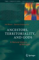 Cover image for Ancestors, Territoriality, and Gods A Natural History of Religion