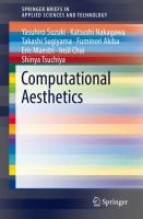 Cover image for Computational Aesthetics