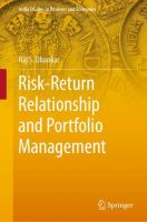 Cover image for Risk-Return Relationship and Portfolio Management