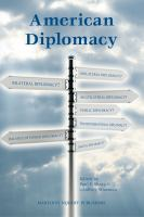 Cover image for American diplomacy