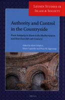 Cover image for Authority and control in the countryside : from antiquity to Islam in the Mediterranean and Near East (sixth-tenth  century)
