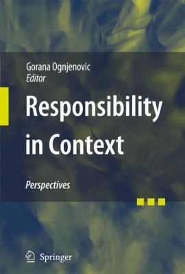 Cover image for Responsibility in Context Perspectives