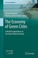 Cover image for The Economy of Green Cities A World Compendium on the Green Urban Economy