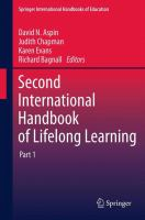 Cover image for Second International Handbook of Lifelong Learning