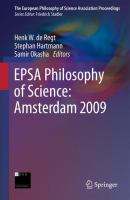 Cover image for EPSA Philosophy of Science: Amsterdam 2009