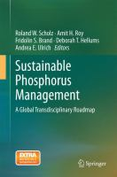 Cover image for Sustainable Phosphorus Management A Global Transdisciplinary Roadmap