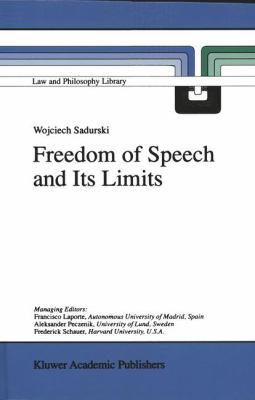 Cover image for Freedom of Speech and Its Limits