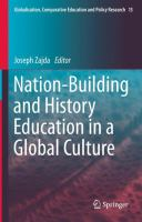 Cover image for Nation-Building and History Education in a Global Culture