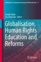 Cover image for Globalisation, Human Rights Education and Reforms