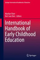 Cover image for International Handbook of Early Childhood Education