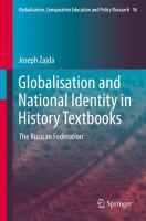 Cover image for Globalisation and National Identity in History Textbooks The Russian Federation