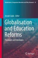 Cover image for Globalisation and Education Reforms Paradigms and Ideologies