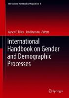 Cover image for International Handbook on Gender and Demographic Processes